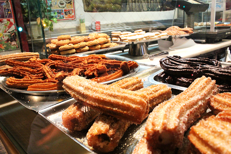 Barcelona - Churros Close up