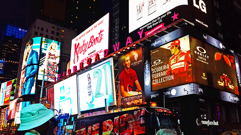 Times Square - Billboards
