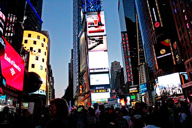 Times Square - Corner