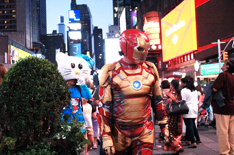 Times Square - Cosplay