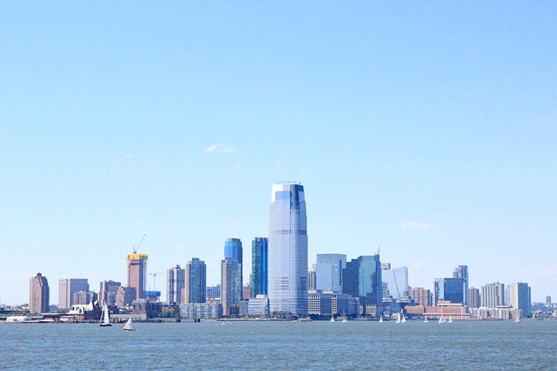 Skyline of Manhattan - New Jersey 1