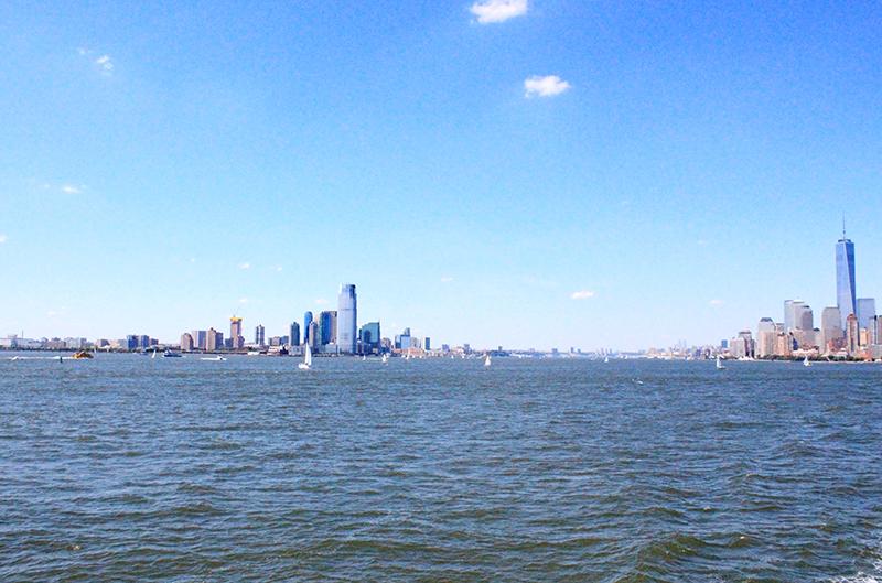 Skyline of Manhattan - Manhattan new jersey