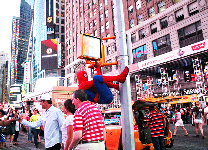 Times Square - Spiderman