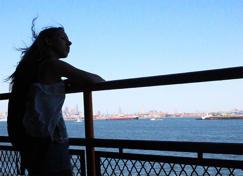 Skyline of Manhattan - Boat