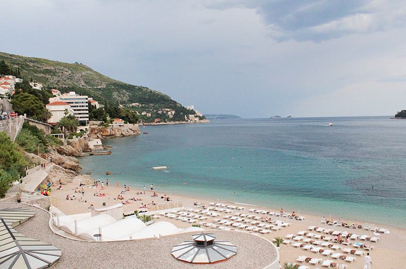 Tanning in Dubrovnik - EastWest Beach Club