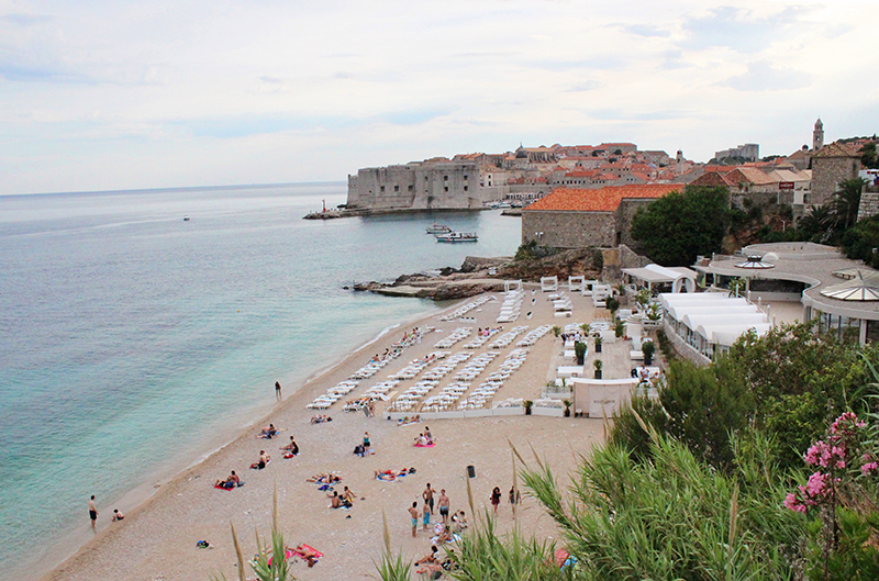 Tanning in Dubrovnik - EastWest Beach Club 2