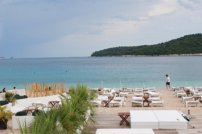 Tanning in Dubrovnik - EastWest Beach Club 5