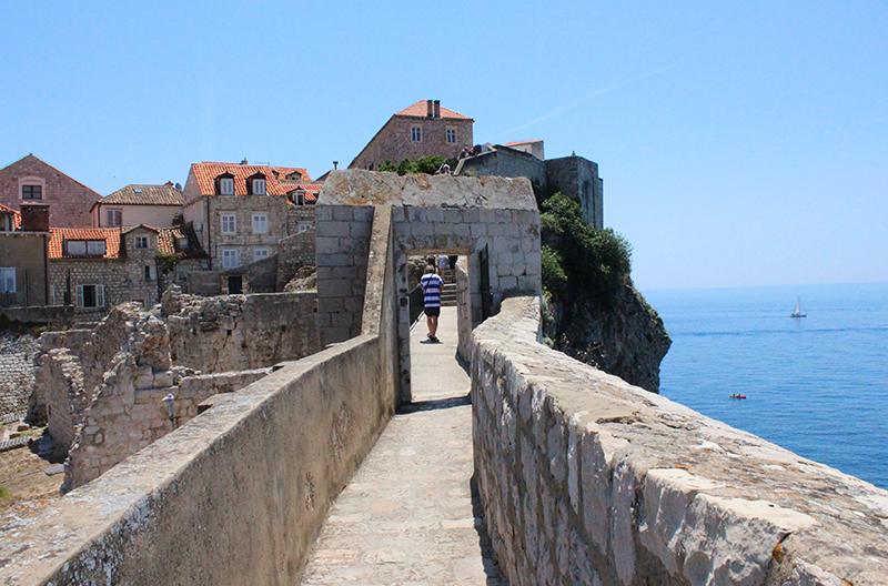 Dubrovnik - Wall walk