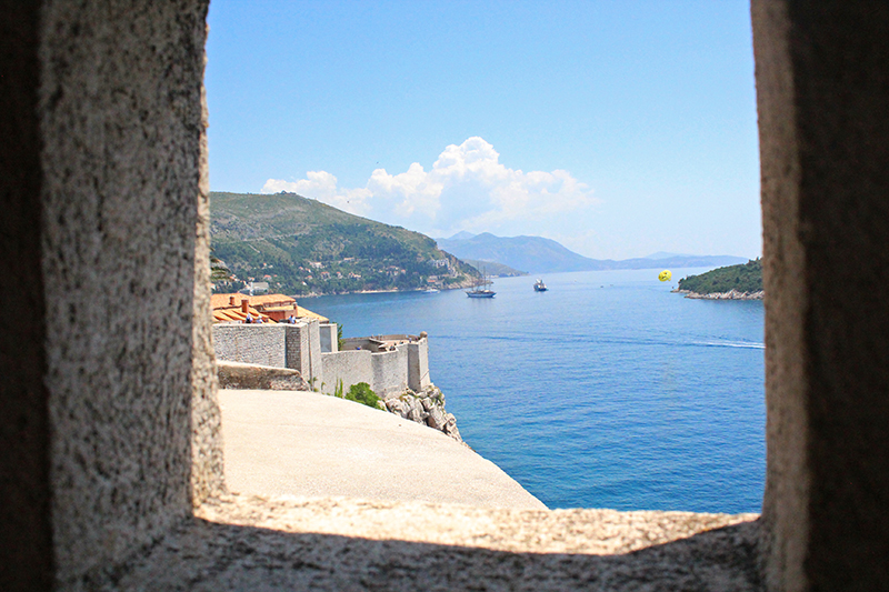 Dubrovnik - Window on the sea