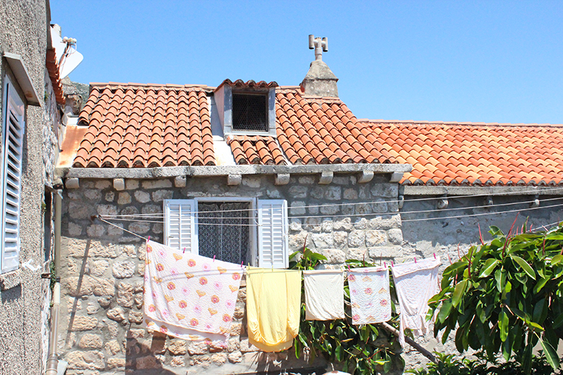 Dubrovnik - Drying under the sun