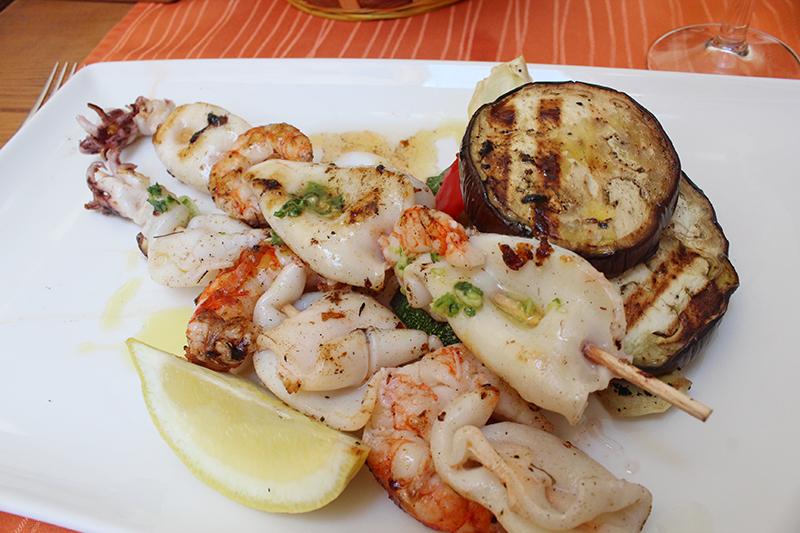 Dubrovnik - Squid Kebab