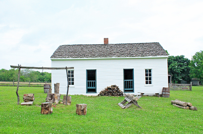 Missouri Town 1855 - School