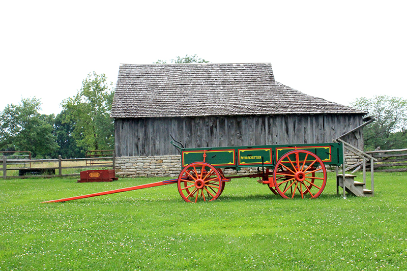 Missouri Town 1855 - Cart