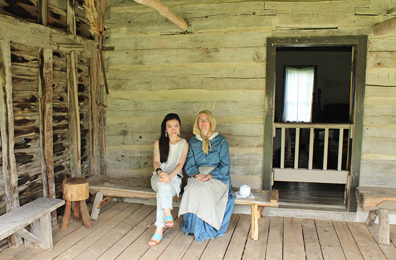 Missouri Town 1855 - Alexandra Luella and Home towner