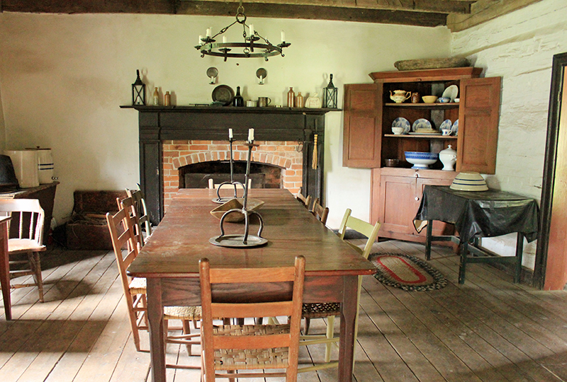 Missouri Town 1855 - Inside Traditional House 2
