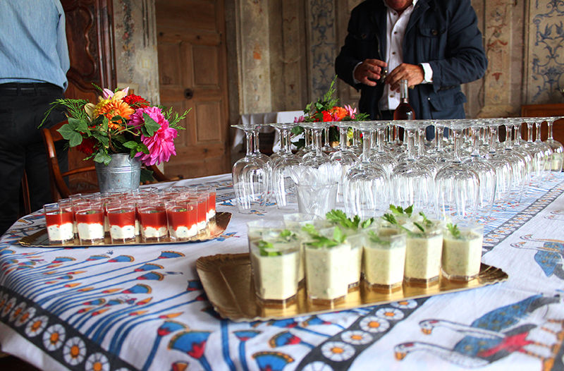 A French Countryside Birthday - Verrines