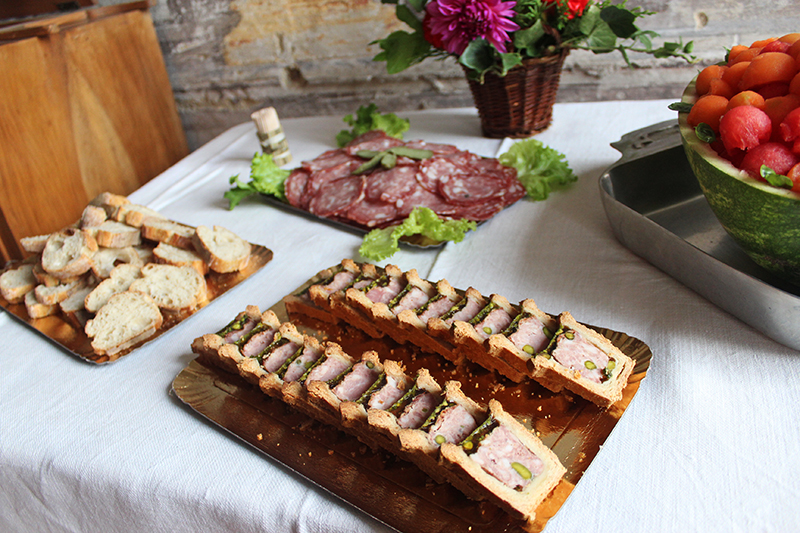 A French Countryside Birthday - Pate en croute