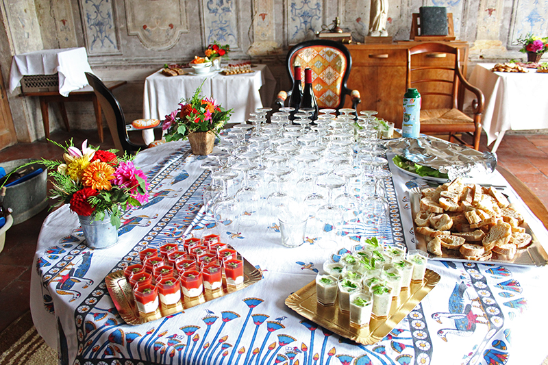 A French Countryside Birthday - Table Set