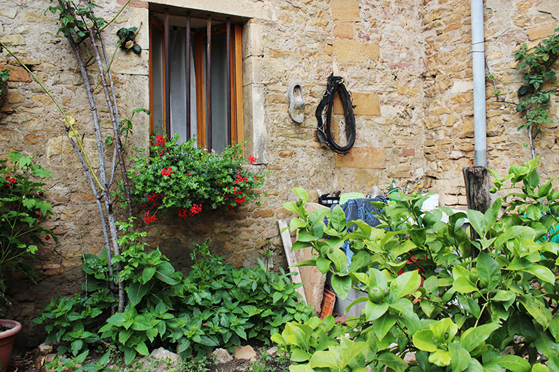 A French Countryside Birthday - House corner