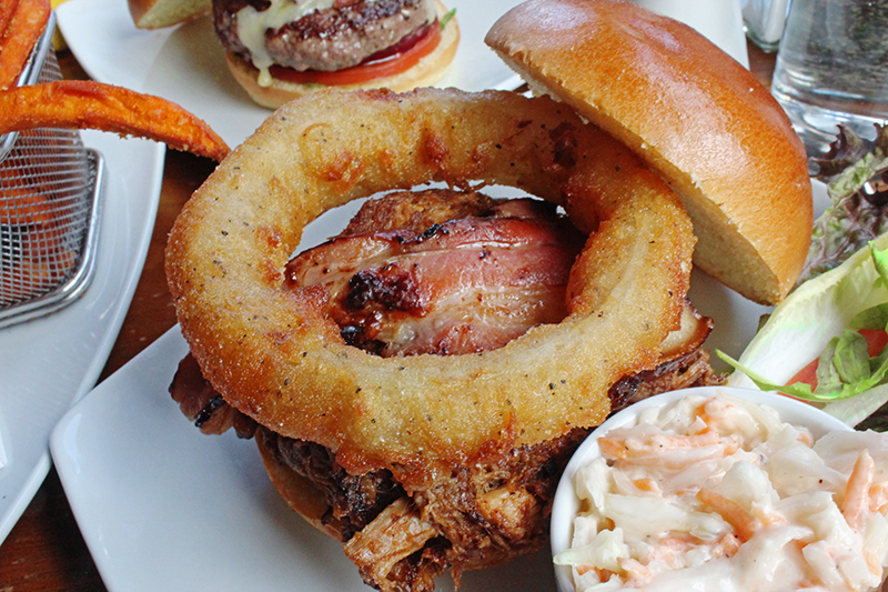 Haché Burger, Camden - Pulled pork burger