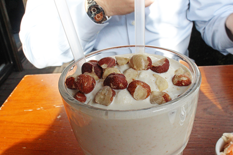Haché Burger, Camden - Peanut butter milkshake
