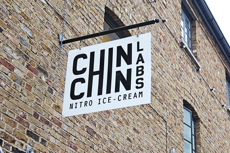 Chin Chin Labs Nitrogen Ice-cream - Board