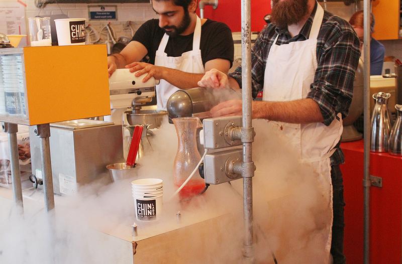 Chin Chin Labs Nitrogen Ice-cream - Nitro smoke