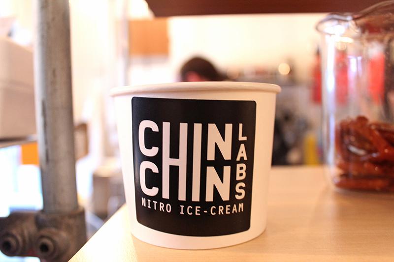 Chin Chin Labs Nitrogen Ice-cream - ice cream pot