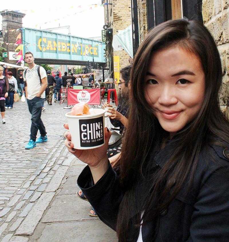 Chin Chin Labs Nitrogen Ice-cream - Alexandra Luella