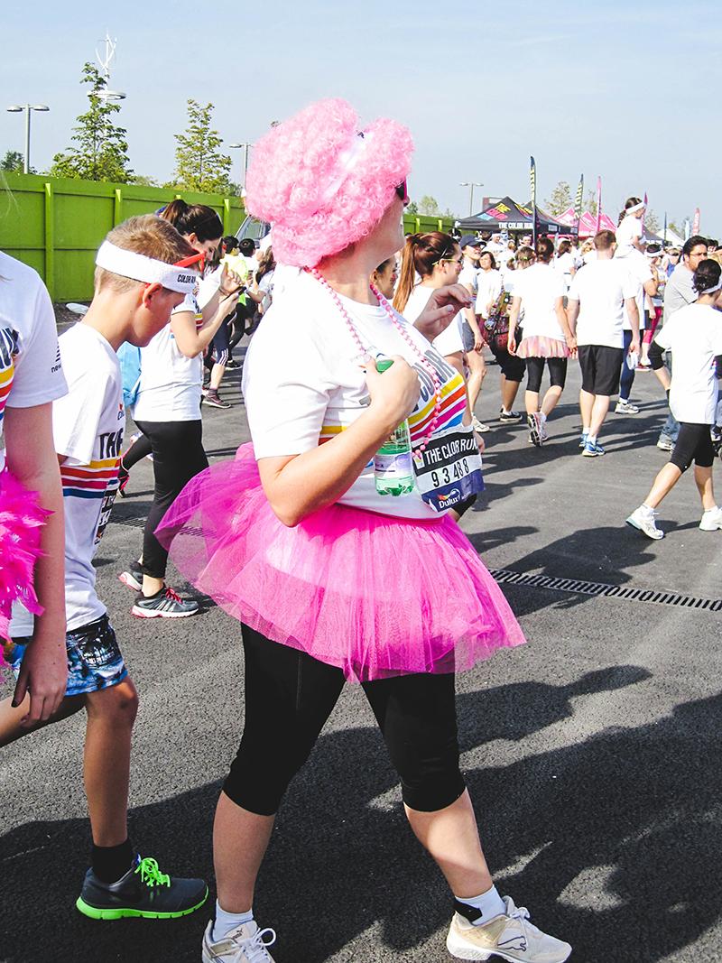 Colour Run London - Pink tutu