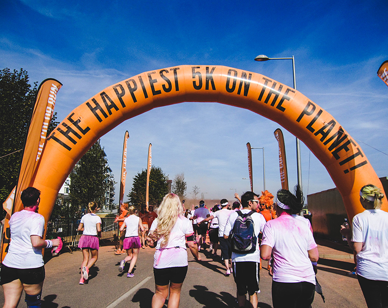 Colour Run London - The happiest 5K on the planet