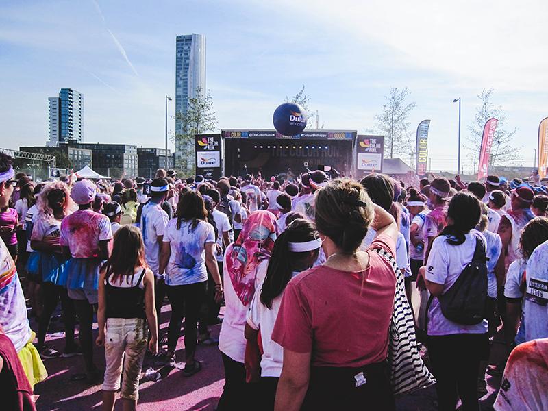 Colour Run London - Concert