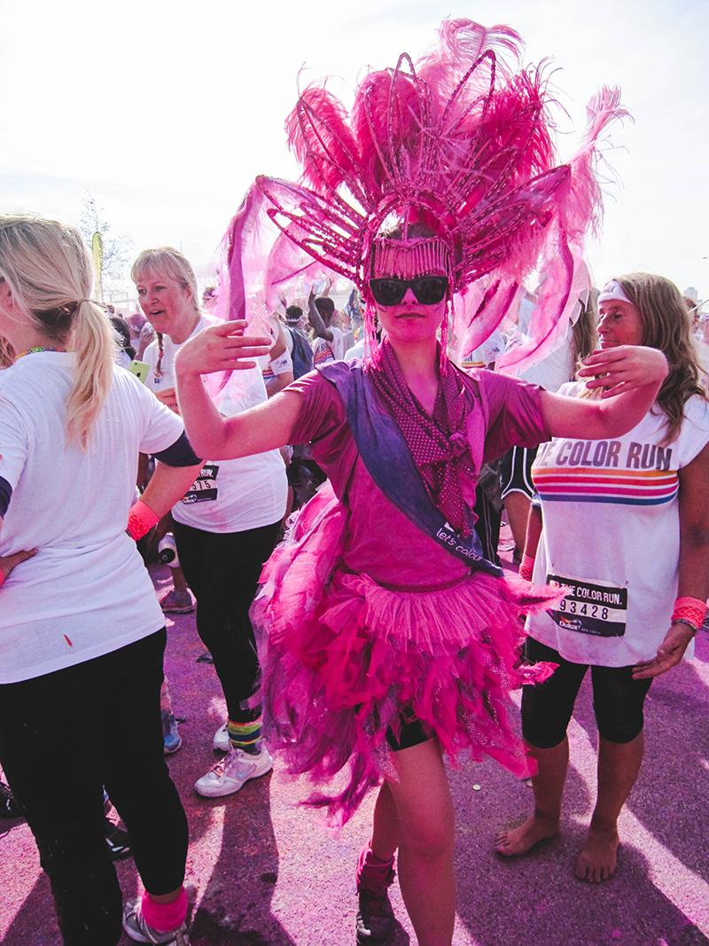 Colour Run London - Pink representative