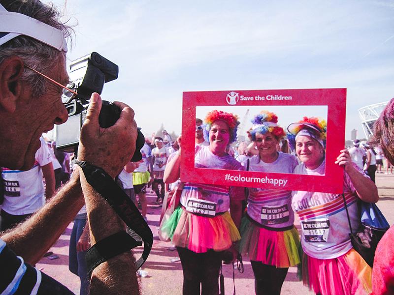 Colour Run London - Runners
