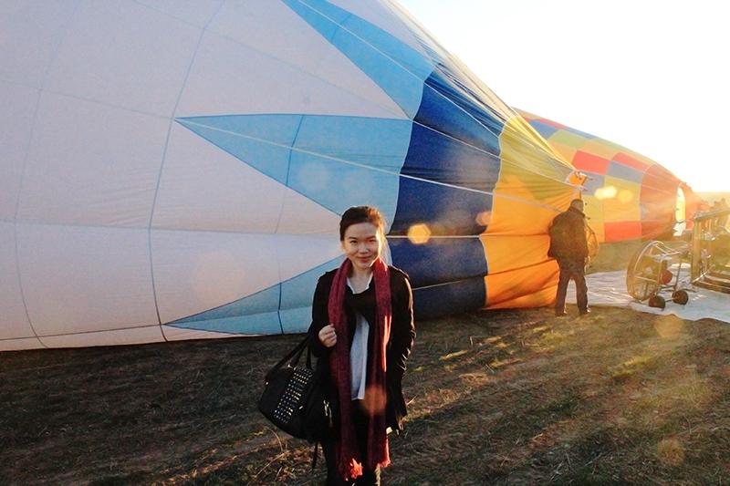 Hot Air Balloon Ride in Cappadocia - Alexandra Luella