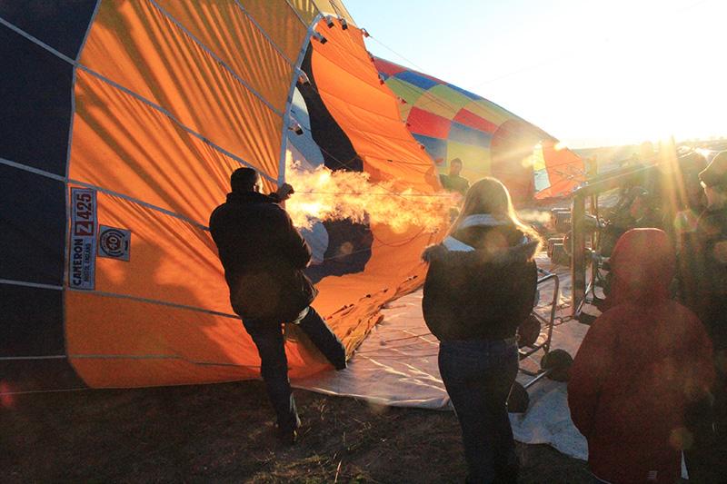 Hot Air Balloon Ride in Cappadocia - Inflate