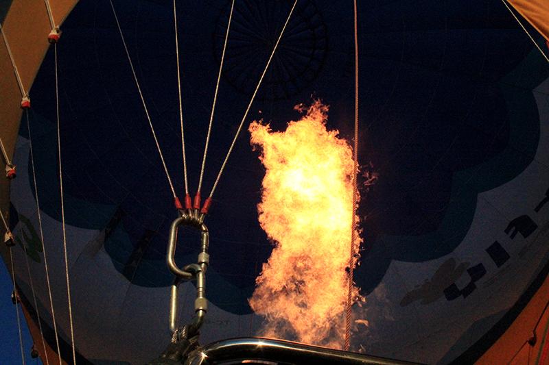 Hot Air Balloon Ride in Cappadocia - Flame