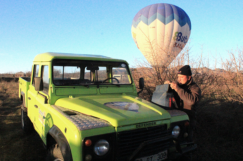 Hot Air Balloon Ride in Cappadocia, Turkey - 4x4