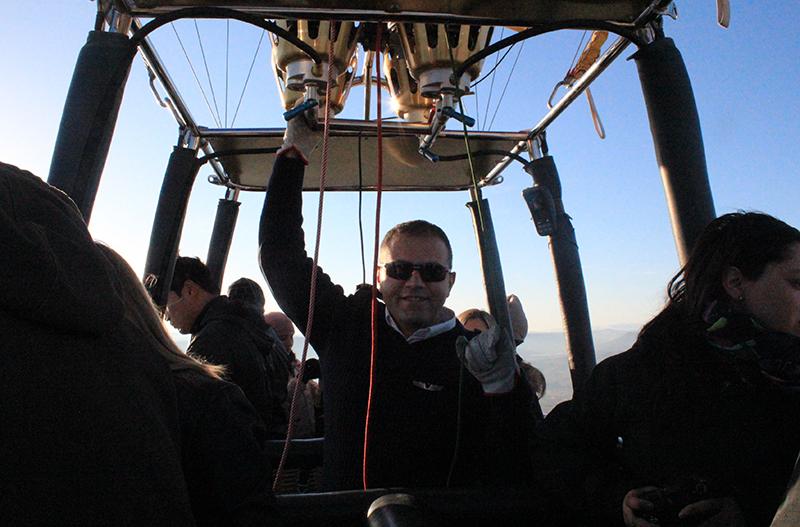 Hot Air Balloon Ride in Cappadocia - Our pilot