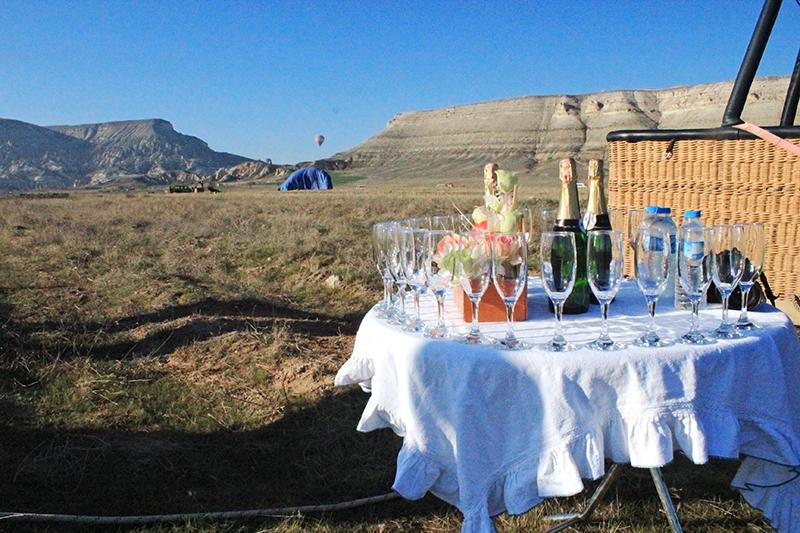 Hot Air Balloon Ride in Cappadocia - Landing celebration