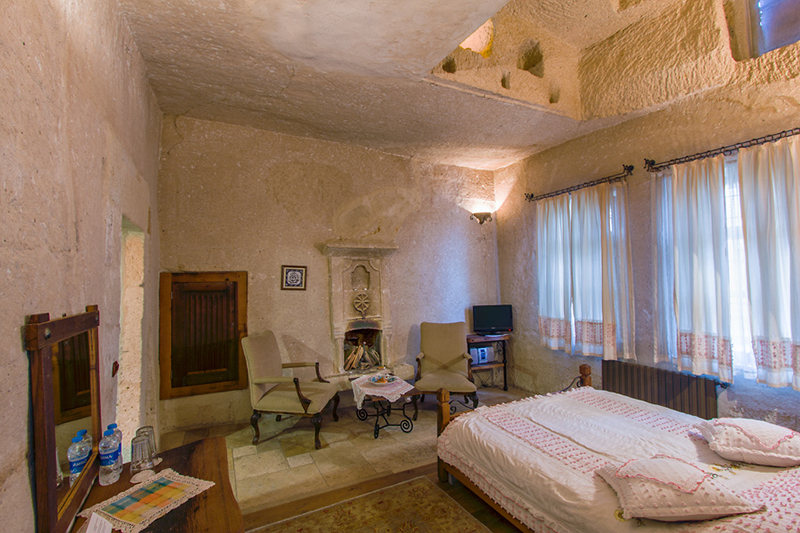 Cave Hotel in Cappadocia, Turkey - Room 1