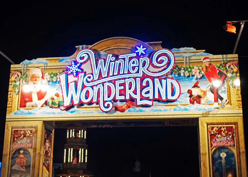 Winter Wonderland 2014 - Entrance