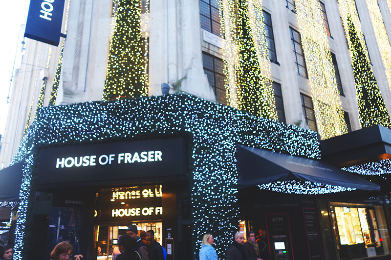 Christmas Diary 2014 - House of Fraser
