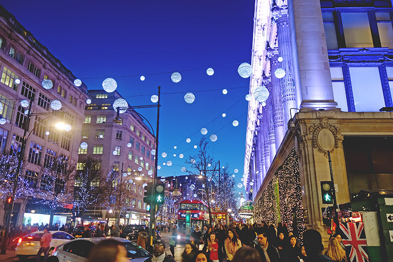 Christmas Diary 2014 - Oxford Street