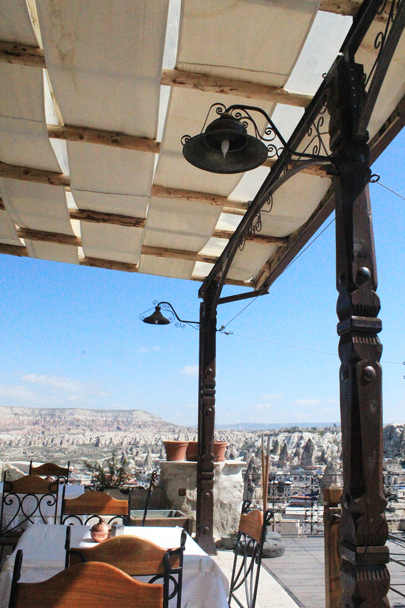 Cave Hotel in Cappadocia, Turkey - Restaurant 2