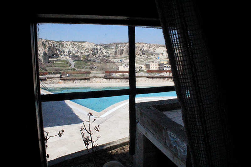 Cave Hotel in Cappadocia, Turkey - Room's View