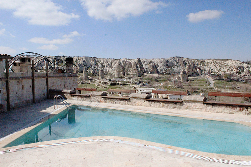 Cave Hotel in Cappadocia, Turkey - Pool