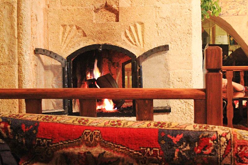 Dibek at Göreme, Cappadocia - Fire place