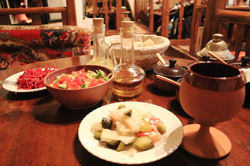 Dibek at Göreme, Cappadocia - Meals