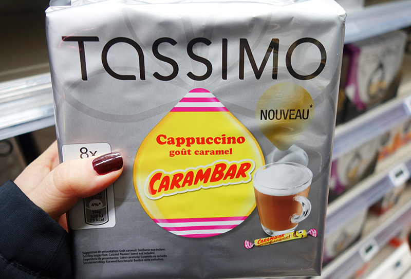 The French and Their Chocolate - Tassimo Carambar